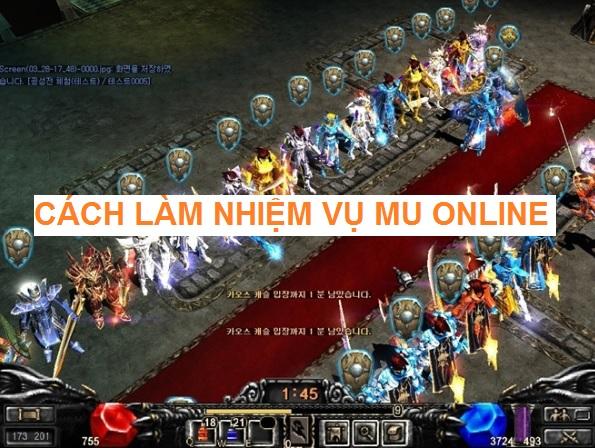 Cách Làm Nhiệm Vụ Mu Online