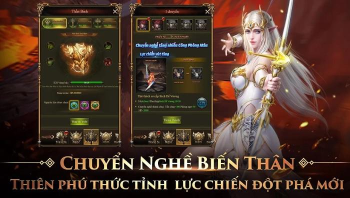 game play MU Thiên Sứ H5